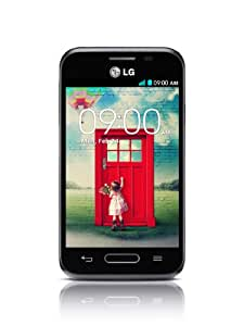 """LG L40 D160 - Smartphone libre Android (pantalla 3.5"""", cámara 3 Mp, 4 GB, Dual-Core 1.2 GHz, 512 MB de RAM), negro [importado]"""