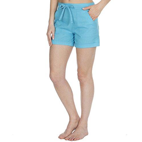 Donna Turquoise Relax Pantaloncini Donna Metzuyan Relax Pantaloncini Metzuyan Turquoise Metzuyan gvz5vq