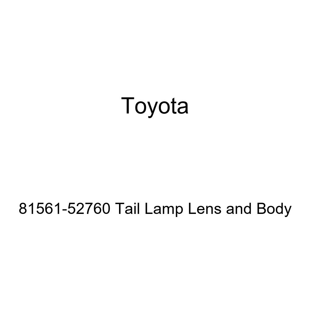 Genuine Toyota 81561-52760 Tail Lamp Lens and Body