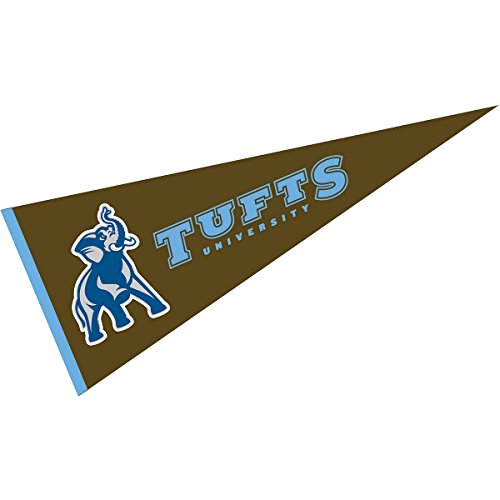 (College Flags and Banners Co. Tufts Jumbos Pennant 12