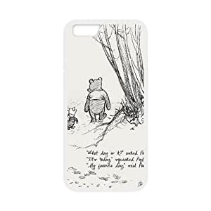Winnie the Pooh Solid Rubber Customized Cover Case for iPhone 6 plus 5.5