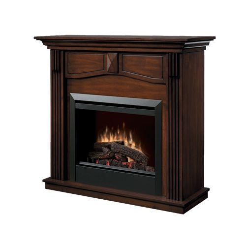 Dimplex Dfp4765 Holbrook 23 Self Trimming Electric Fireplace With Burnished Wal
