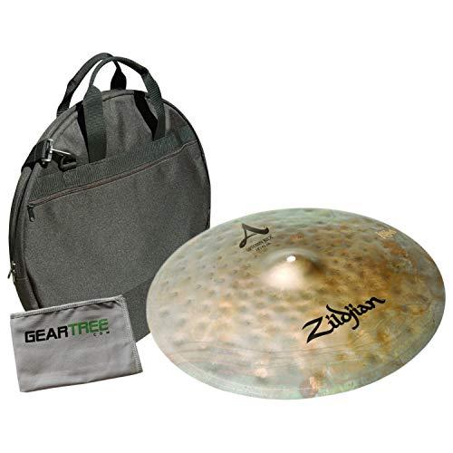 (Zildjian A0119 A Series 18in Uptown Ride Cymbal Bundle w/Bag)