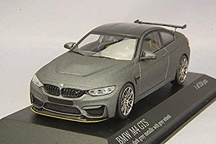 Matte Grey Car >> Amazon Com Minichamps Bmw M4 Gts 2016 Car Collectible