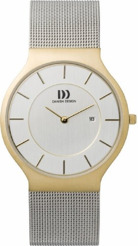 Danish Designs Men's IQ65Q732 Stainless Steel Gold Ion Plated Watch