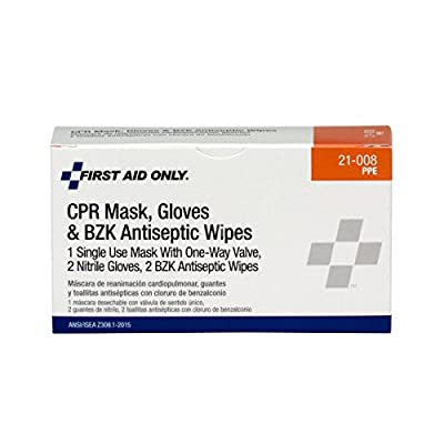 Pac-Kit by First Aid Only 21-008 4 Piece CPR First Aid Pack by Pac-Kit
