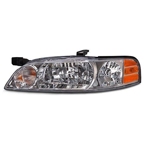 Fits Nissan Altima 00-01 Headlight Headlamp Left Driver Side Halogen Replacement