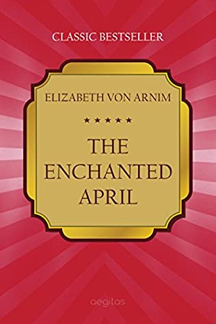 book cover of The Enchanted April