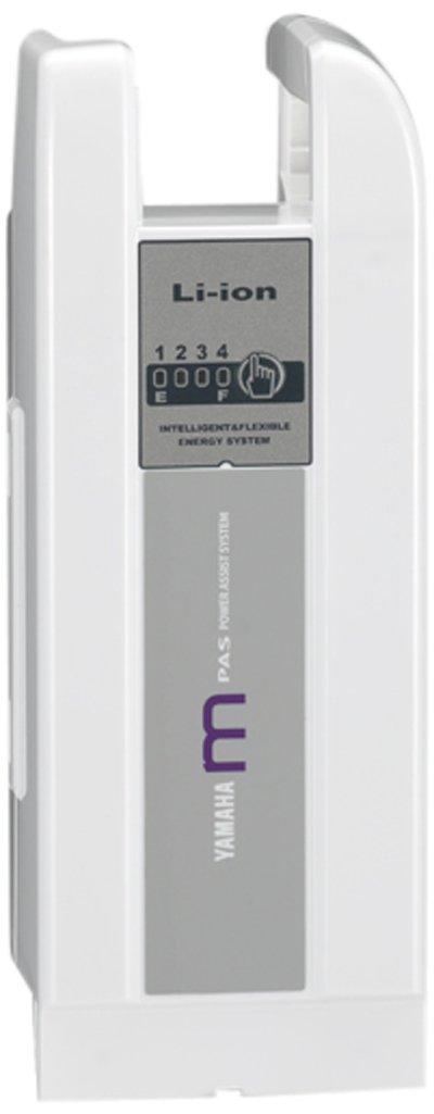 YAMAHA(ヤマハ) 長生きバッテリー 6.6AH リチウムMバッテリー ホワイト 90793-25102   B008CBNSLC