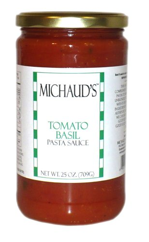 Michaud's Tomato Basil Pasta Sauce made in Connecticut