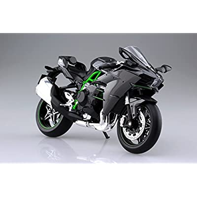 Aoshima Skynet 04569 Kawasaki Ninja H2 1/12 Scale Finished Model: Toys & Games