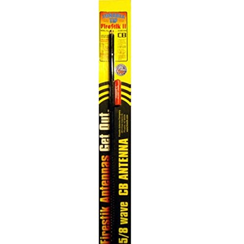 Price comparison product image Firestik II FS-2BK 2 feet 300 Watt FS Series Tunable Tip CB Antenna - 1 Each - Black