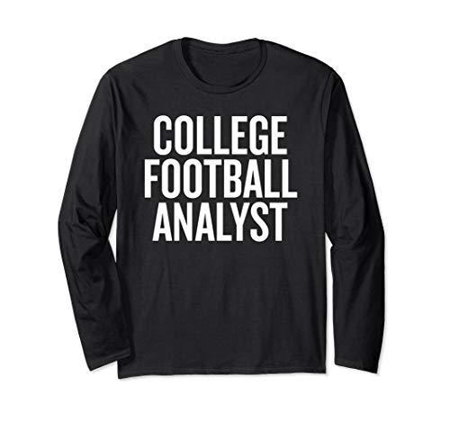 College Football Analyst T-shirt Halloween Christmas Funny