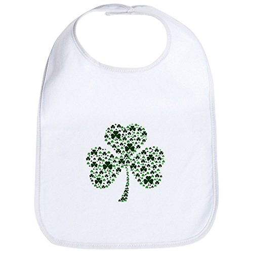CafePress - Irish Shamrocks Bib - Cute Cloth Baby Bib, Toddler Bib