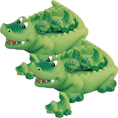 (Playmaker Toys Alligator Family Bath Toy - Floating Fun! (Pack of 2))