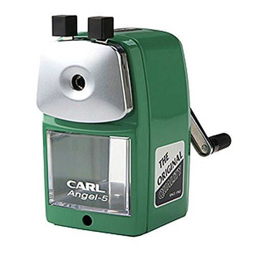 Carl A 5 Pencil Sharpener Green Quiet For Office And