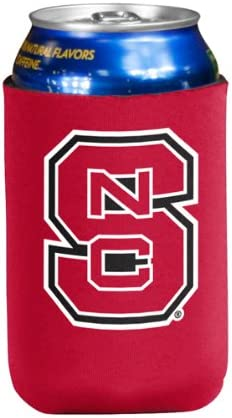 2-Sided Can Cooler NCAA North Carolina State Wolfpack 1 Pack 12 oz