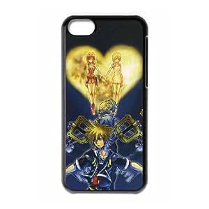 Kingdom Hearts II 2 Funda caja del teléfono celular Funda iPhone 5C Negro E6R5DQZA plástico Phone Case Deportes