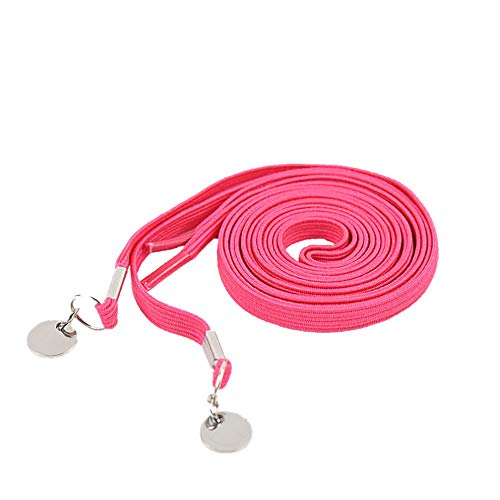 Clever Elastic Shoelace Men Round Creative lace One Shoelace Card Laziness Color Casual Hand Pink Women No Sports Buckle VPASS Tie Txp7Oqv