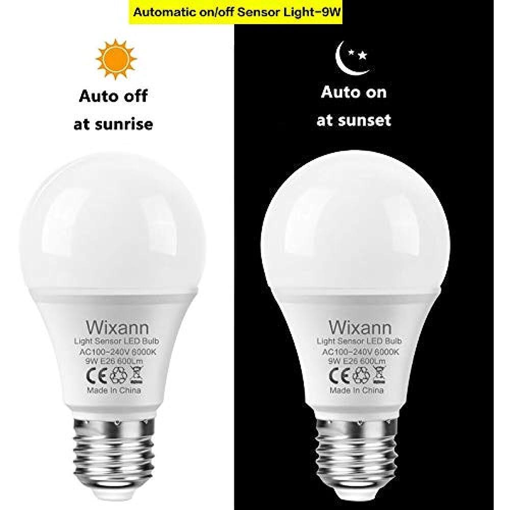 Dusk Led Bulbs To Dawn Light Bulb  Built Off A19 Night