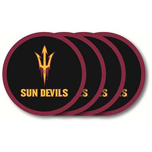 - NCAA Arizona State Sun Devils Vinyl Coaster Set (Pack of 4)