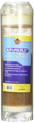Coralife 05699 PureFlo Mixed-Bed Deionization Cartridge