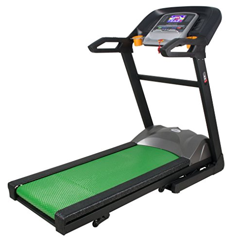 Folding BAREFOOT Treadmill Electric Support Motorized Power Running Fitness Machine