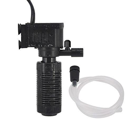 (Mylivell Aquarium Filter Whisper Power Filter 20 Gallon Fish Aquarium Air Filters for Saltwater Freshwater)