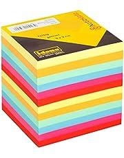 Idena 311023 - notitieblok kopgelijmd, 9 x 9 cm, 80 g/m2, 700 vellen, gekleurd, 1 stuk