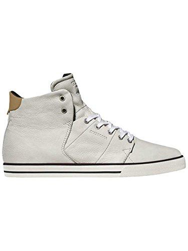 Globe Los Angered, Sneaker alte Unisex - Adulto white