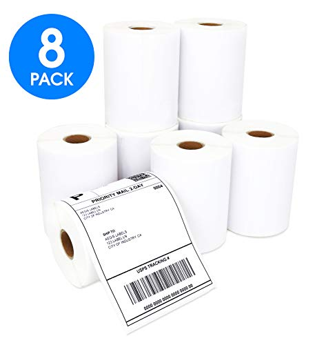 Aegis Labels - 8 Rolls DYMO 1744907 Compatible Shipping Addr