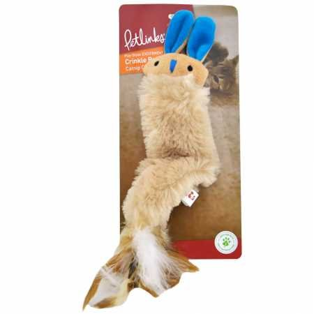 Petlinks Crinkle Buddy Catnip Toy ()