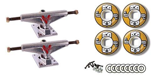 見落とすアスペクトスクレーパーベンチャー5.25 Low Trucks要素53 mm 101 a Representホイールベアリングパッケージ