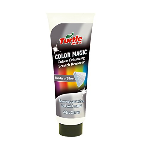 Turtle Wax Color Magic Car Polish Cleans 150g Tube (Silver) (Discontinued by (Red Car Wax)