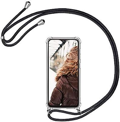 MXKOCO Carcasa de movil con Cuerda para Colgar Samsung Galaxy A10 ...