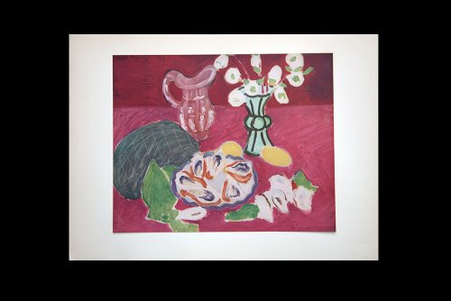 Henri Matisse (1869-1954) Limited Edition Lithograph | Roses De Noel Et Huitres 1940 | Sign | Gallery Prepared Authentication | ART183;docs8482;