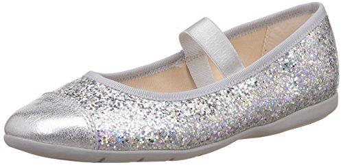 Clarks Mädchen außerschulischen Dance Solo Inf Synthetik Schuhe in pink Grau