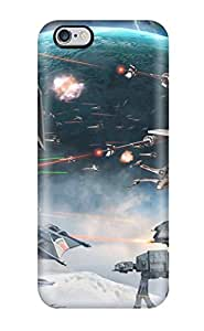 ZcjNBJp780rSgkK ThomasSFletcher Awesome Case Cover Compatible With Iphone 6 Plus - Video Game Star Wars