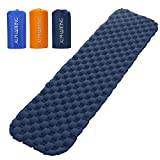 AlphaBeing Ultralight Air Sleeping Pad – Inflatable Camping Mat for Backpacking, Hiking and Traveling – Air Cell Design for Better Stability & Support For Sale