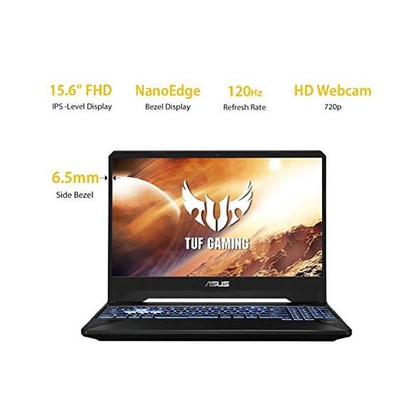 "ASUS TUF Gaming FX505DT 15.6"" FHD 120Hz Laptop GTX 1650 4GB Graphics (Ryzen 5-3550H/8GB RAM/1TB HDD + 256GB PCIe SSD/Windows 10/Stealth Black/2.20 Kg), FX505DT-AL202T"