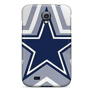 Fashion Tpu Case For Galaxy S4- Dallas Cowboys Defender Case Cover