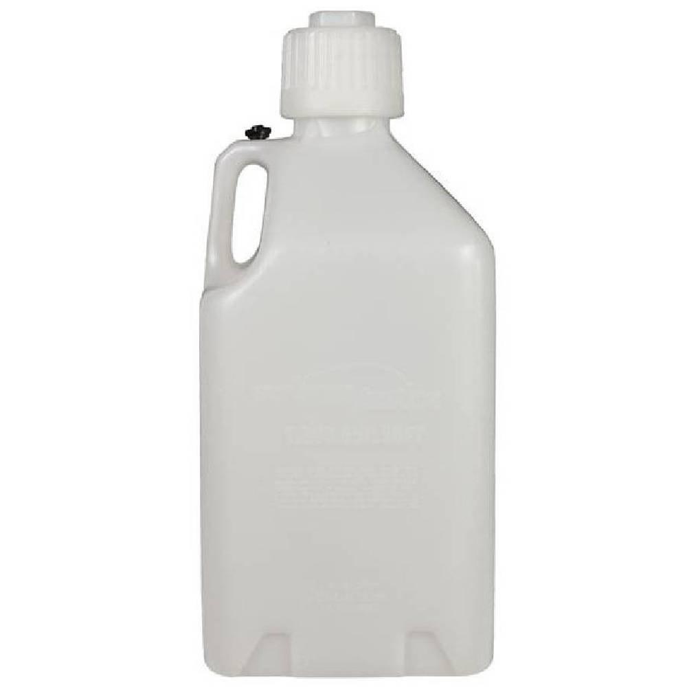Scribner Plastics (2000-6PK White Utility Jug - 5 Gallon Capacity, (Pack of 6) by Scribner Plastics