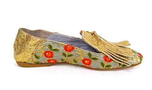 Belle Damen Oro Hohe Sneaker Oro (vcon Oro)