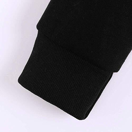 En Chemise Femmes Taille Capuche Zhrui Jumper Mode À Casual Longues Dentelle Petite couleur Manches Splice Chemisier Automne Noir Blouse x07p0X