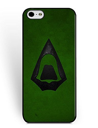 (Cover iPhone 6/Cover iPhone 6S) Cases For Guys Men,Cool Design Cover iPhone 6/6S Case Green Arrow Logo Dc Comics Stylish Hard Plastic Hybrid U8F5Fw