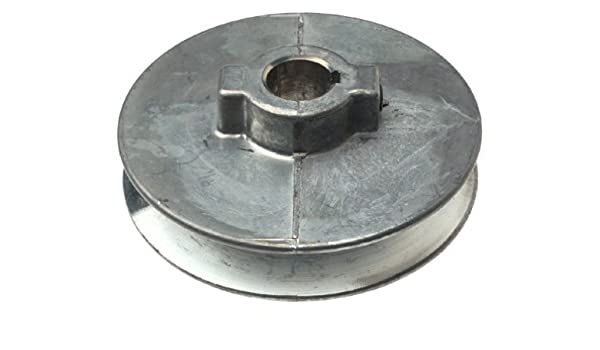 "Chicago Die Cast 350A 3.5/"" x 5//8/"" Die-Cast V-Grooved Pulley"