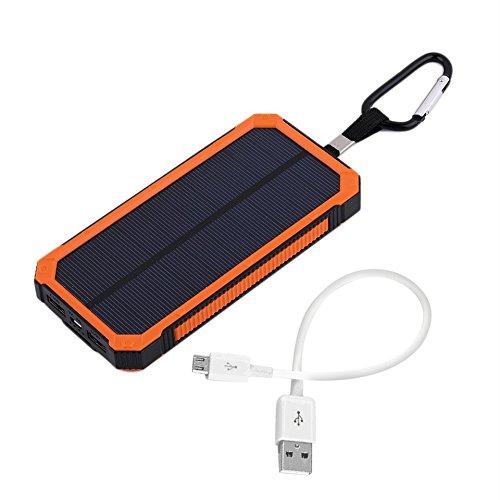 Cargador solar, logicstring 30000 mAh Portable Solar Power ...