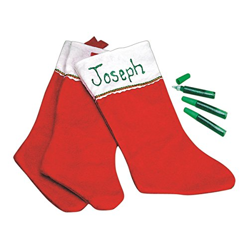 It's In The Bag 9086 Glitter-A-Name Stocking (Pack of 12) -