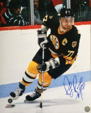 Signed Bourque Photograph - 16x20 - Autographed NHL Photos