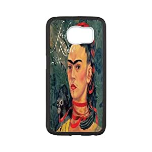 Fggcc Frida kahlo Case for SamSung Galaxy S6,Frida kahlo S6 Cell Phone Case (pattern 15)